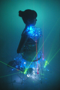 "Erina Kashihara ""Crystal Storm ""Laser and Glass Wear"